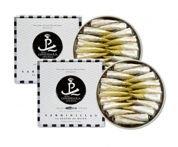 Sardinen in der Dose, Sardinillas in Olivenöl