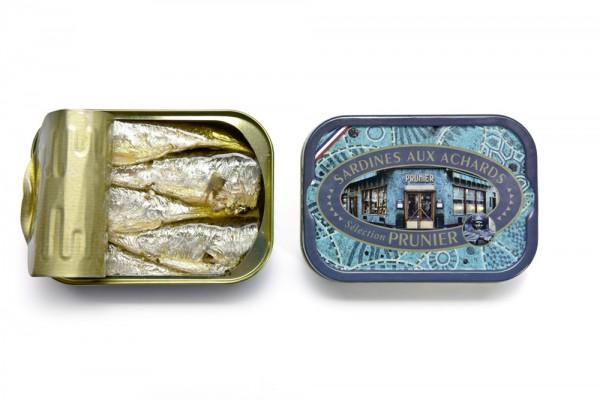 Prunier Sardinen, in Olivenöl pikant