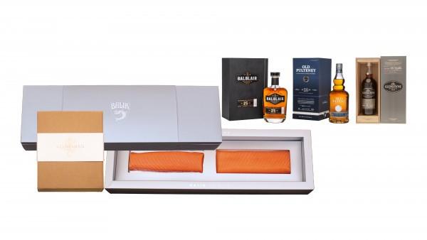Balik Fillets & Scottish Whiskey Set Prestige