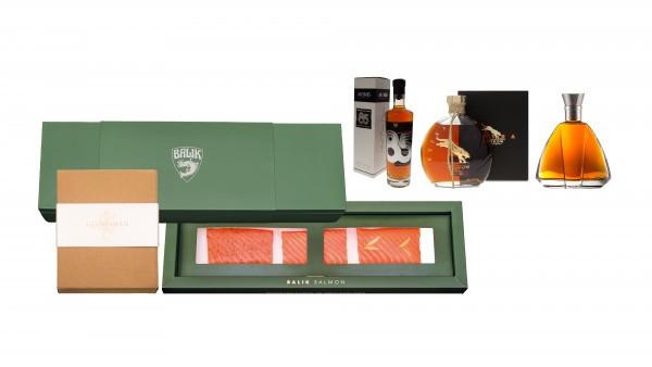 Balik Sjomga & Cognac Set 2 Prestige